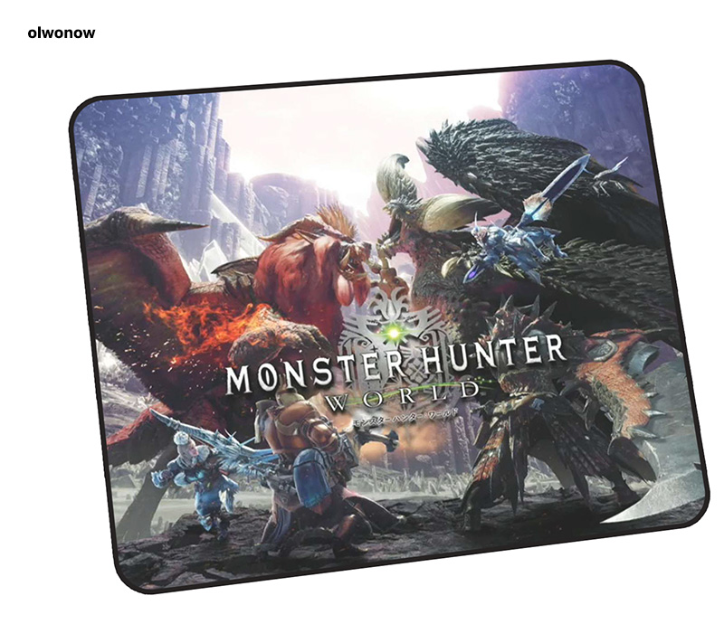 Monster Hunter Mouse Pad Colourful 30x25cm Mousepads Best Gaming Mousepad Gamer Gorgeous Personalized Mouse Pads Keyboard Pc Pad