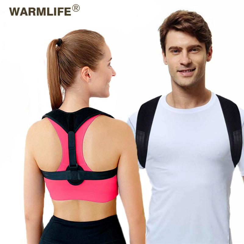 Back Posture Corrector Women Men, Breathable clavicle posture correction ,Prevent Slouching Relieve Pain Posture Straps,(China)
