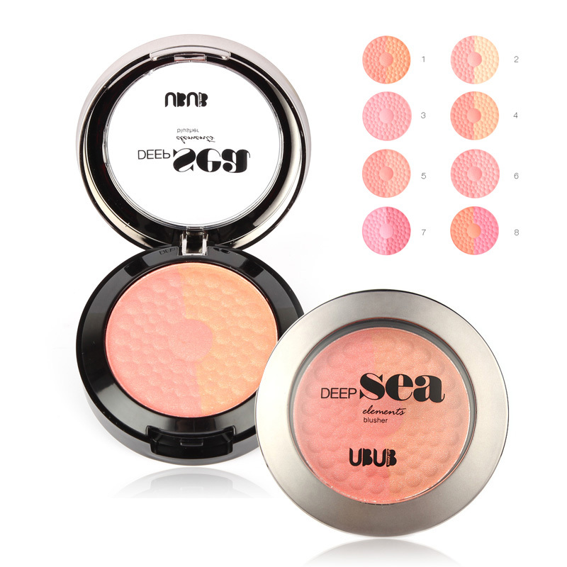 8pcs/lot New 2015 Brand Makeup UBUB Blush Face Care Bubble ...
