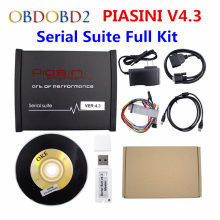 High Newly Black PIASINI MASTER Full Version V4.3 Master ECU Programmer Serial Suite(JTAG BDM  K line L line RS232  CAN BUS )
