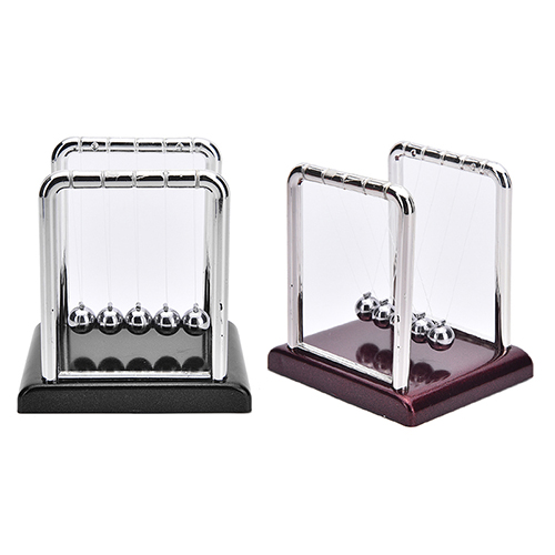 1 Pcs Newtons Cradle Steel Balance Ball Fun Decoration Physics Science Gift Toy