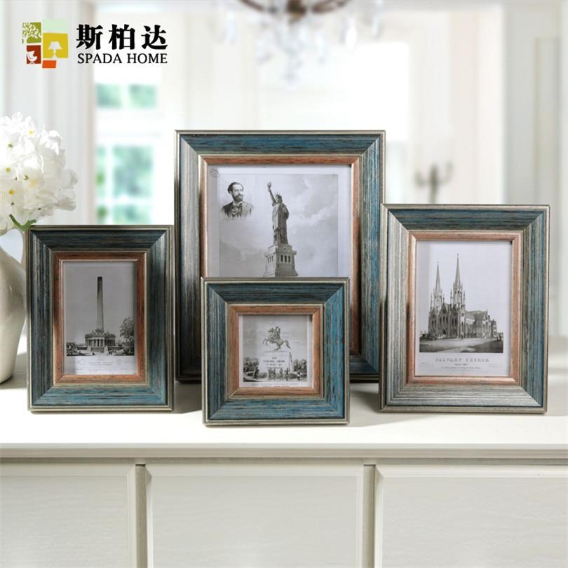 buy cadre photo moderne wood photo frames quadro para fotos creative photo. Black Bedroom Furniture Sets. Home Design Ideas