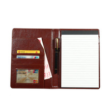 A5 3color Business Office Pocket Leather Book Cover font b Notebook b font Planner font b