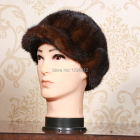 Mink Hair Hat Ear Protector Cap 2014 Quality Men S Mink Hair Benn Fur Hat Winter
