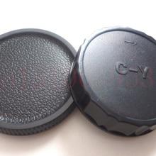 2 в 1 колпачки+ Задняя крышка объектива для камеры Contax Yashica CY RTS 139 137 FX-1 FR FX-D FX-3