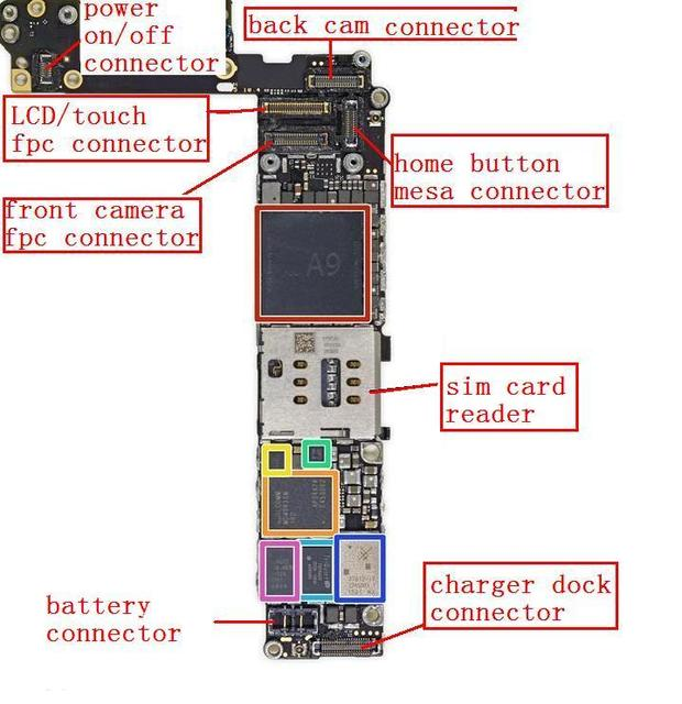 Iphone 6 Logic Board Diagram Electronic Schematics collections