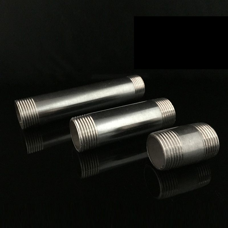 Quot male double thread equal mm polishing extension
