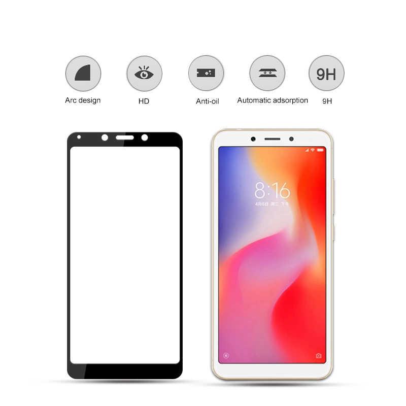 9 H 2.5D verre trempé pour Xiaomi Redmi 6a protecteur d'écran pour Xaomi Redm 6 A verre de protection Xiami Remi Film de couverture complet