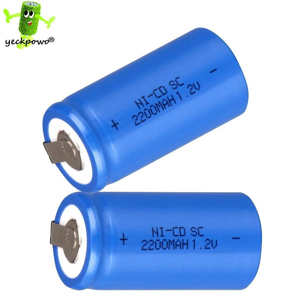 36 unids SC batería recargable SUBC acumulador batteria banco de la energía 1.2