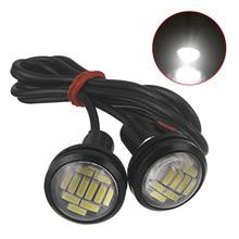 1pcs DC 12V Eagle Eye LED Light 4014 12SMD 23MM Daytime Running DRL Backup Car Auto Lamp