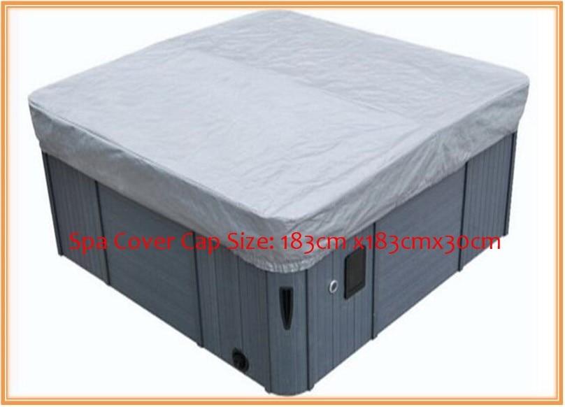 ФОТО hot tub cover guard& cap,spa bag 183cmx183cmx30cm  fits dynasty,arctic,vita,master spa