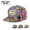 2016 New arrival hip-hop hat man and women  Korean version  liberty street graffiti cap embroidery Superman flat  the hat B-1680
