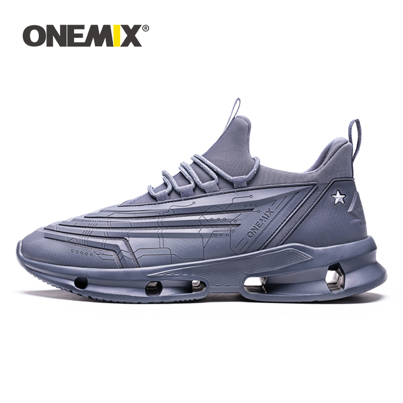 ONEMIX Shoes Men Sneakers 2019 New Bullet Technology Design Lightweight Leather Casual Sport Training Jogging Shoes Women FlatsONEMIX Shoes Men Sneakers 2019 New Bullet Technology Design Lightweight Leather Casual Sport Training Jogging Shoes Women Flats