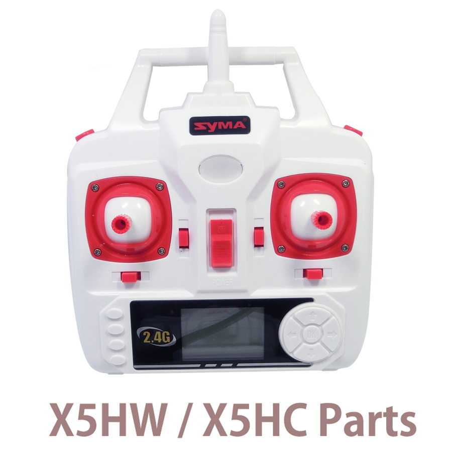 Syma X5HW X5HC Set High Mode Speed launcher Transmitter Remote Controller Spare Parts For X5HW RC Helicopters Drone delphi брускетта из печеного перца 230 г
