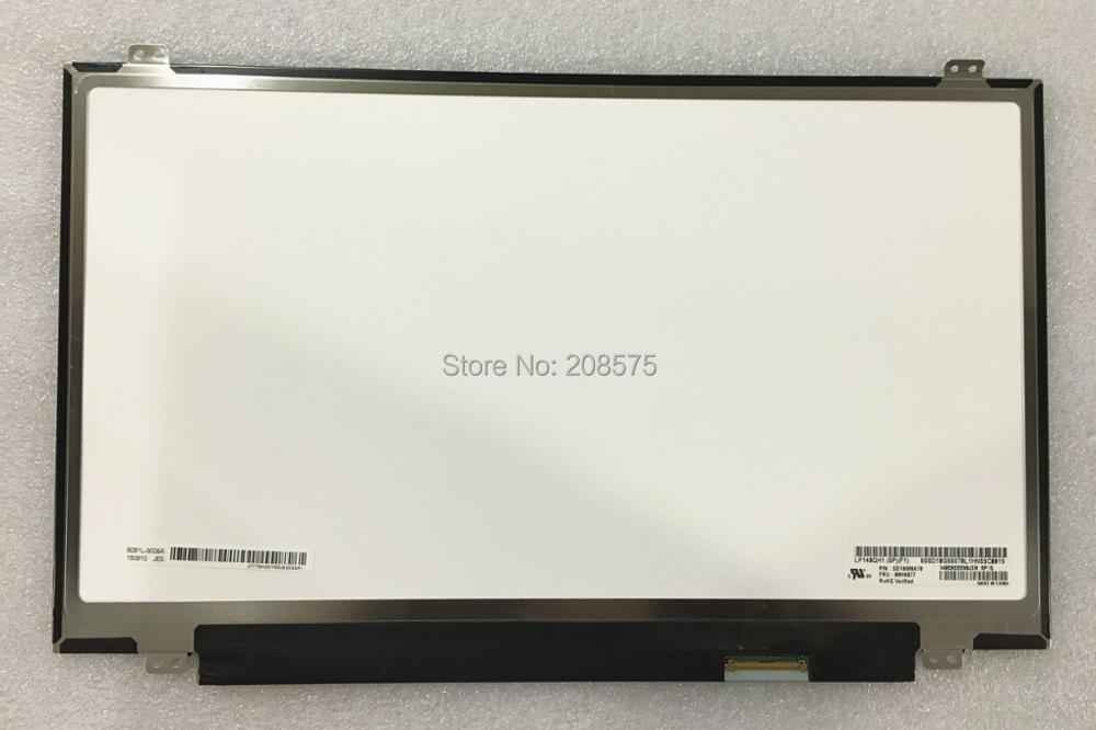 Free shipping LP140QH1-SPF1 LP140QH1-(SP)(F1) LED LCD Laptop Screen 2560*1440 40pin free shipping brand new 14 inch laptop lcd led screen b140qan01 b140qan01 1 2560 1440