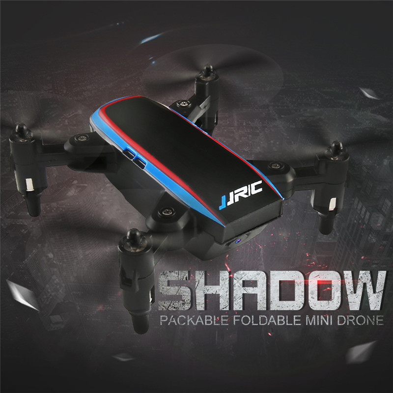 JJRC H53W Mini Foldable Pocket Drone Mini FPV Quadcopter Selfie 480P WiFi Camera Hover  Dron RC Helicopter #0201 rc drones quadrotor plane rtf carbon fiber fpv drone with camera hd quadcopter for qav250 frame flysky fs i6 dron helicopter
