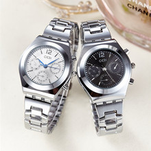 купить New Watches Women Luxury Brand Stainless Steel Quartz Watch Ladies Fashion Sport Waterproof Wrist Watches Clock reloj mujer дешево