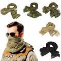 190*90 см  военный Камуфляжный Тактический сетчатый шарф из хлопка  с изображением лица снайпера  для кемпинга  охоты  многоцелевой  для пешего ...