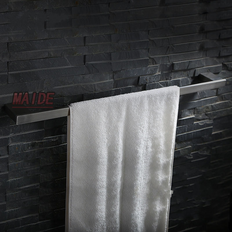 bathroom accessories sus304 stainless steel thickened 60cm single towel bartowel racktowel rail - Bathroom Accessories Towel Rail