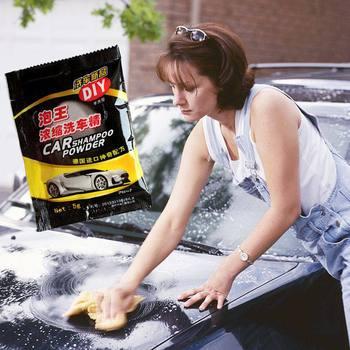 2019 5Pcs Car Wash Shampoo Universal Cleaning Car Shampoo Multifunctional Cleaning Tools Car Soap Powder Car Windshield Powder