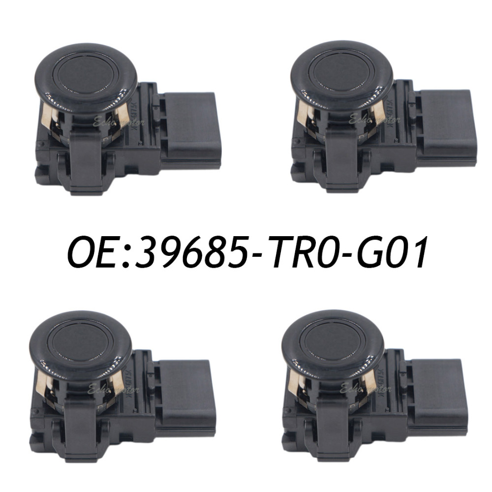 New SET(4) High Quality 39685-TR0-G01 Parking PDC Sensor 188400-4210 For Honda цена и фото