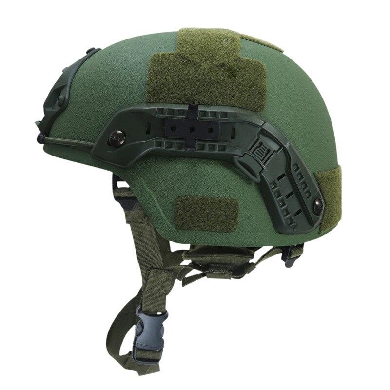 MICH2000 NIJ 3A 9mm Bulletproof Helmet Tactical Sports Helmet Modern Warrior Kevlar Tactical Bulletproof Sport Helmet Sportswear