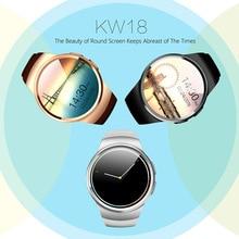 Smart Bluetooth Uhr Pulsuhr Smartwatch KW18 PK GV18 Intelligente Elektronik 2016 Smartwatches für Android IOS Telefone