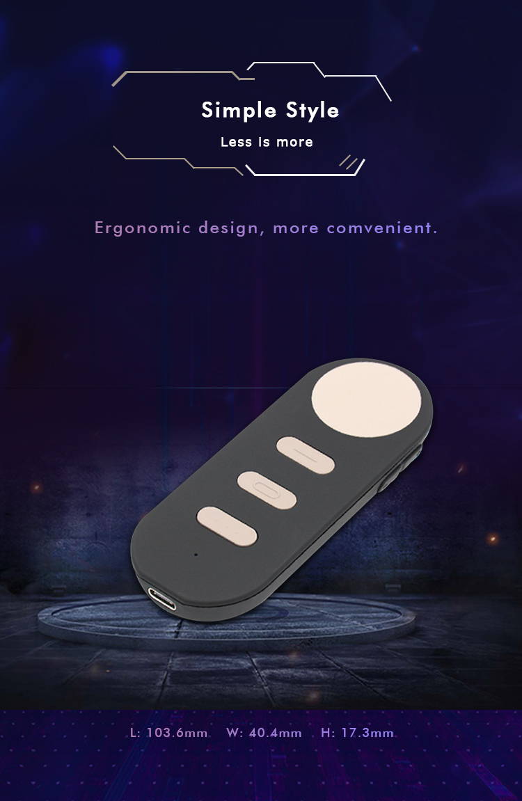 Bluetooth 4.2 VR Remote Motion Controller for Google Daydream with Air Mouse for Android and Windows 7/8/10 Samsung S8/ S8+ 6