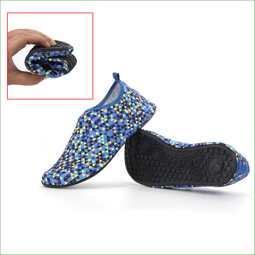 BMS03 Water Skin Unisex Shoes SWIMMING SHOES WATER SHOES BAREFOOT AEROBIC VACANCE MULTI SOCKS