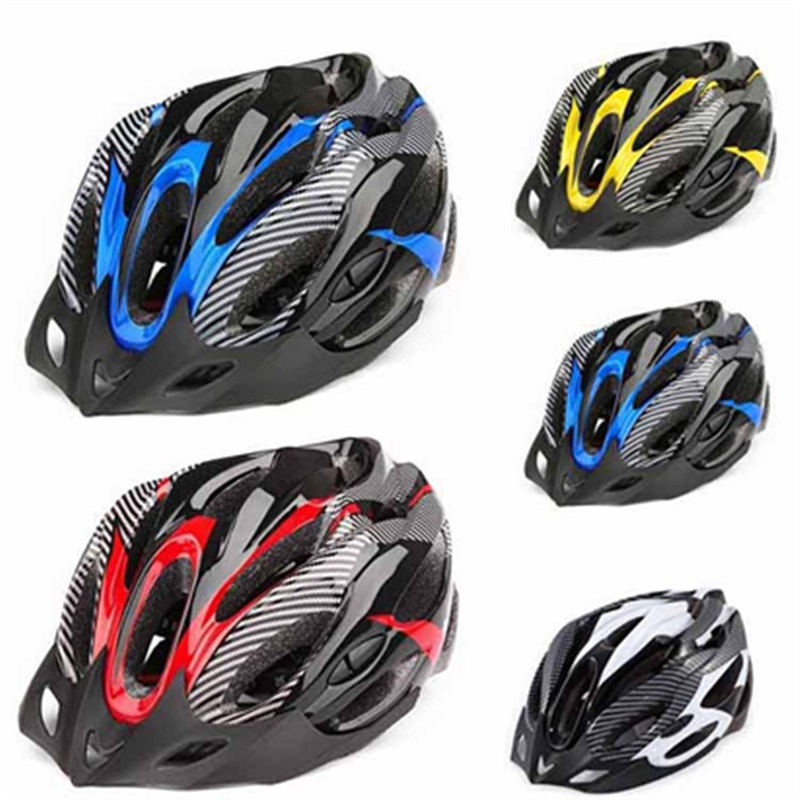 Helm bersepeda Mens Sepeda Jalan Naik Helm Visor integral-dibentuk Helm Bersepeda Ultralight MTB Racing sepeda bagian