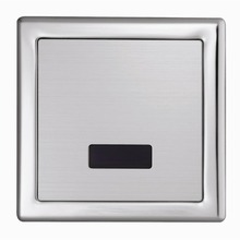 Bathroom DC/AC concealed flusher urine infrared sensor urinal automatic stool flush valve copper valve hotel  auto accessories