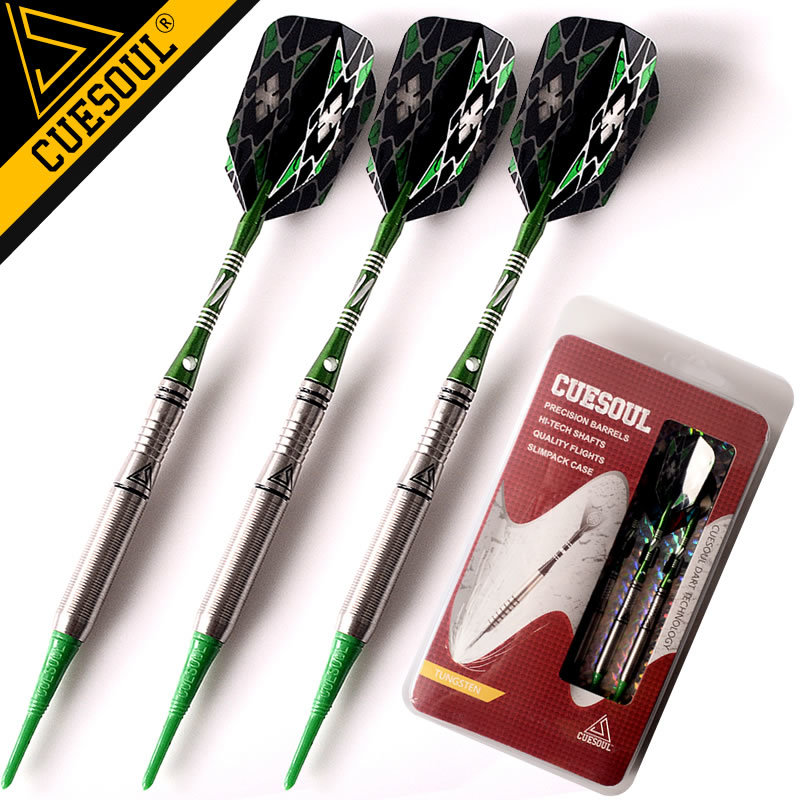 New CUESOUL 90% Tungsten Darts 18g Professional Soft Tip Darts Electronic Soft Tip Darts 17 18g to252