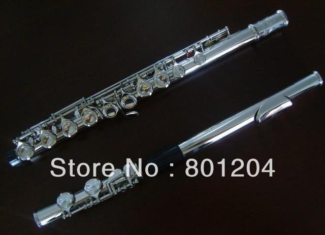 Quality 16 obturator nickel E flute musical instrument Wind instrument