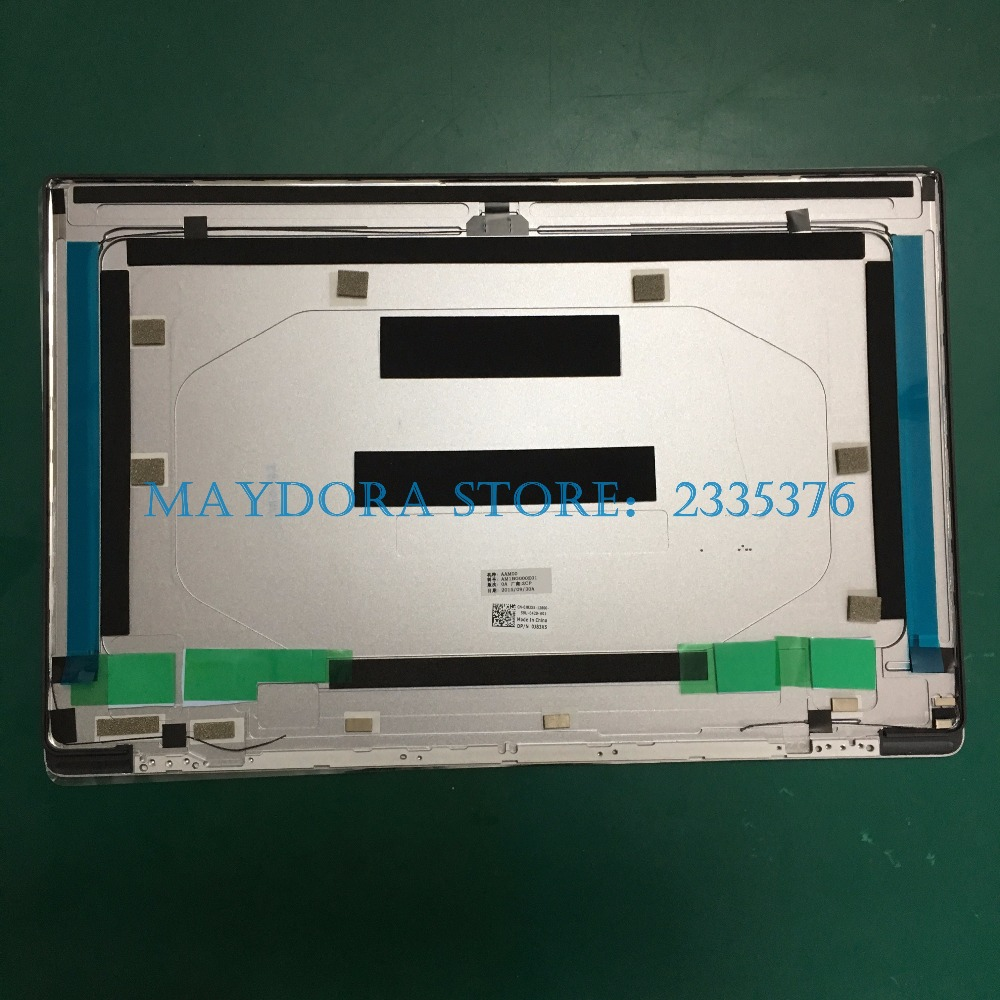 NEW laptop LCD screen cover for dell XPS15-9550 9560 PRECISION 5510 5520 LCD COVER Silver CNC Aluminum 0J83X5 J83X5 image