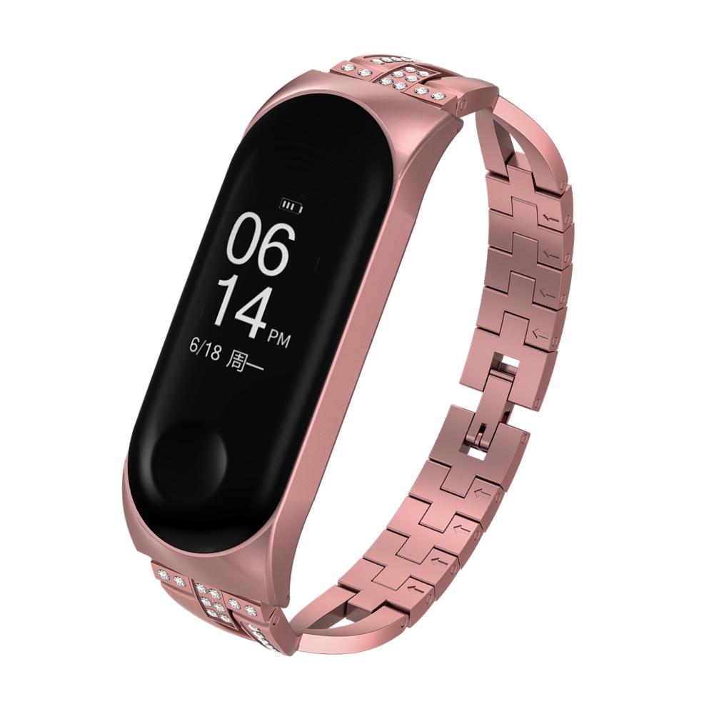 Mi Band 3 Wrist Strap Metal Screwless Stainless Steel Bracelet Miband 3 Wristbands Pulseira Miband3 For Xiaomi Mi Band 3 Strap