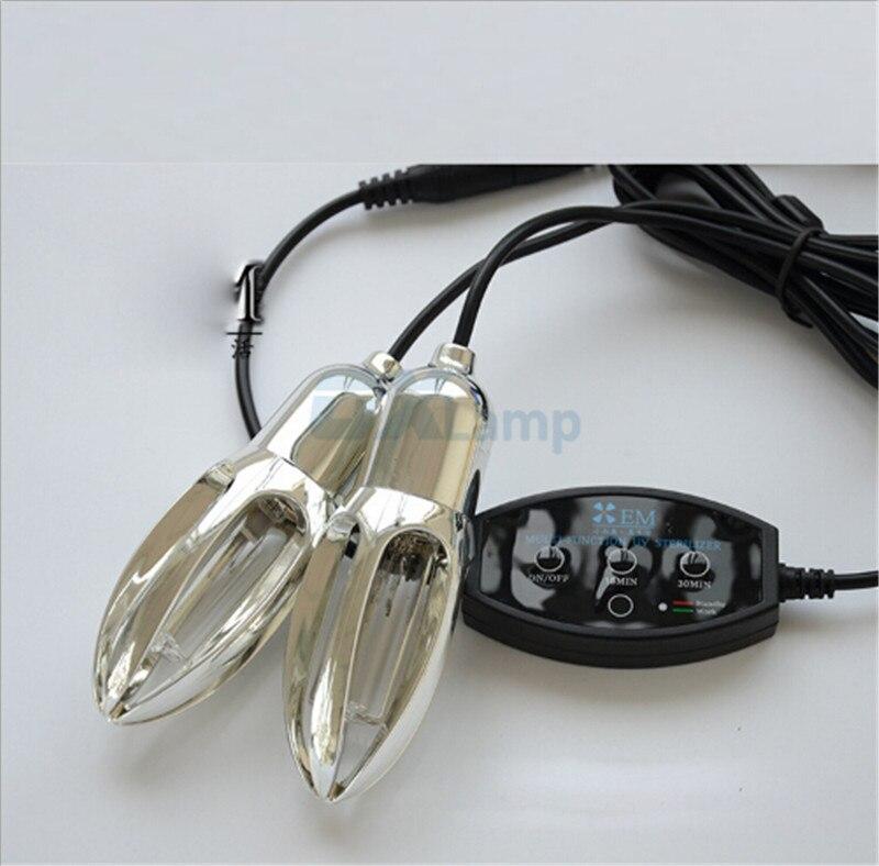 Zapatos de arranque UV esterilizador médico secador caliente desodorante deshumidificar desinfectante ultravioleta luz de la lámpara de bombilla de ozono de esterilización - 3