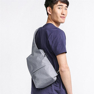Image 3 - OriginalXiaomi Backpack Chest Bag  Fashion Leisure Bags Travel Urban Bag 200*100*400mm For Men Women Small Size