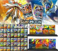 200 Uds 120 60 100 Uds. Juego de cartas de pokemon brillantes juego de cartas de batalla Carte juego de cartas de juguete para niños