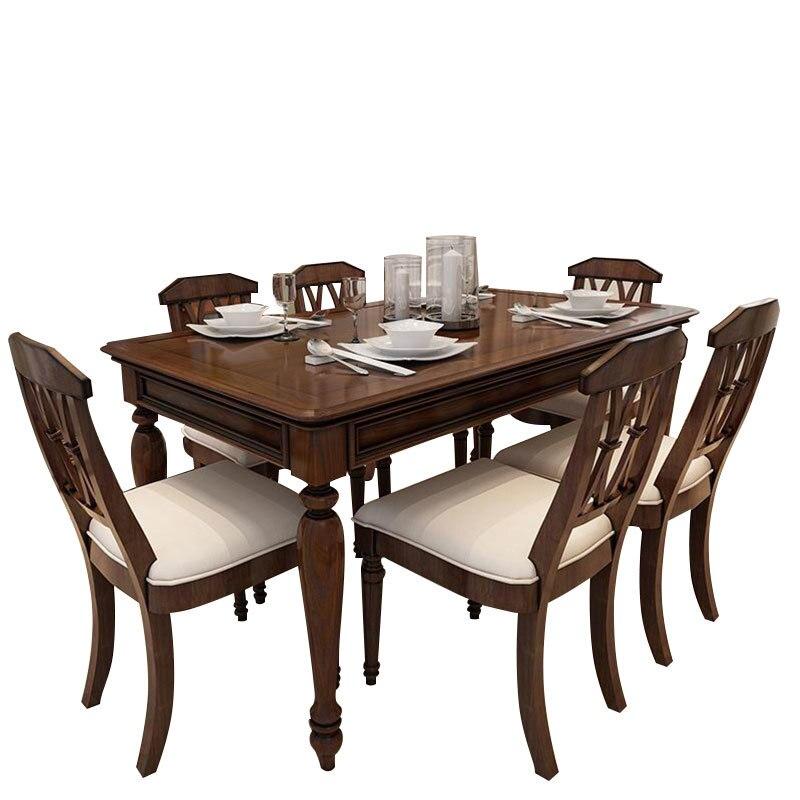 Redonda Sala Comedores Mueble Dinning Tavolo Marmol Yemek Masasi Shabby Chic Wood Desk D ...