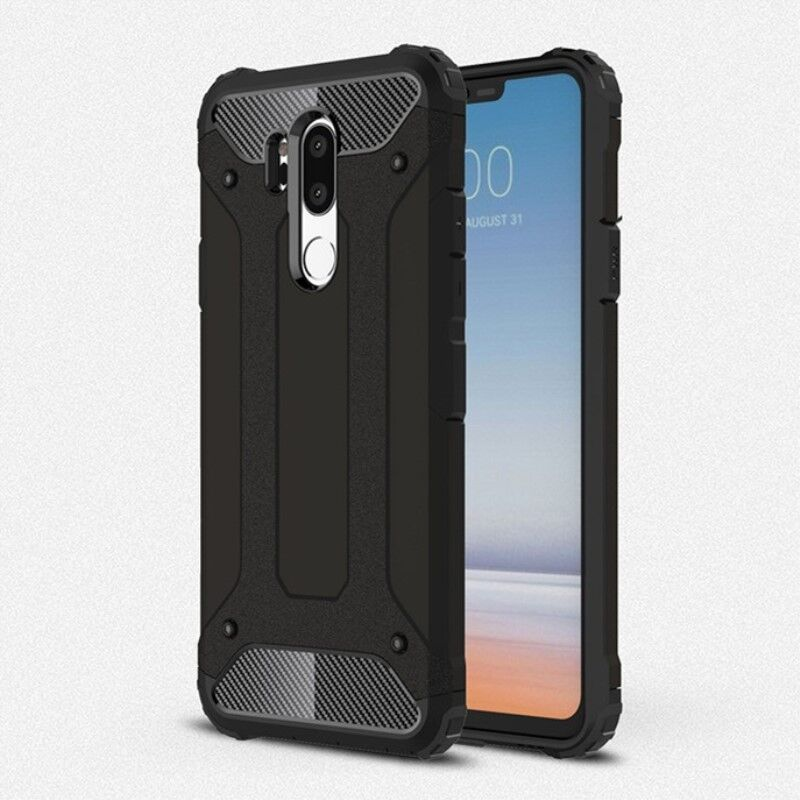 For LG G5 <font><b>G6</b></font> G7 Case Luxury Hybrid Tough Soft TPU Shockproof Hard PC Silicone Armor Phone Back Cover Rugged Coque Fundas image