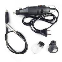 dremel mini drill kit rotary tool accessories ferramentas electric power tools flexible shaft woodworking set 220v