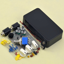 DIY Tremolo Pedal kit Electric guitar effect pedals stompbox black 1590 enclosure  free shipping