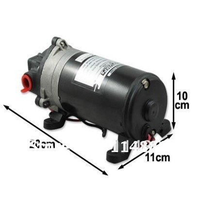 high pressure boat pump SINGFLO dp 120M wet carpet cleaner