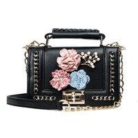 COOL WALKER Mini Chain Bag Handbags Women Famous Brand Luxury Handbag Women Bag Designer Crossbody Bag
