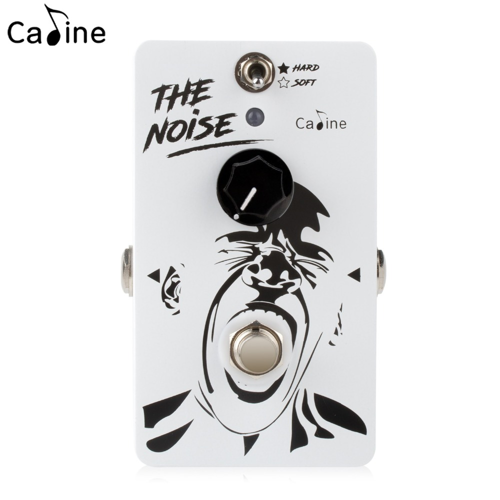 Caline Noise Gate Guitar Effect Pedal Two Way Selector Switch Controls High Gain Distortion Guitarra Accessaries