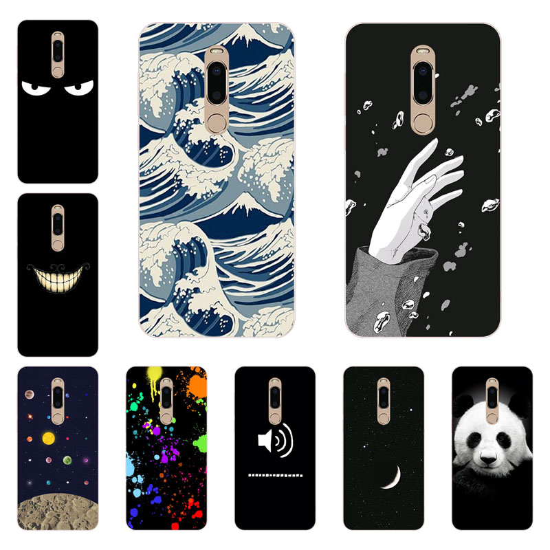 meizu m6t Case,Silicon Space imagine Painting Soft TPU Back Cover for meizu m6t Phone protect Bags shell