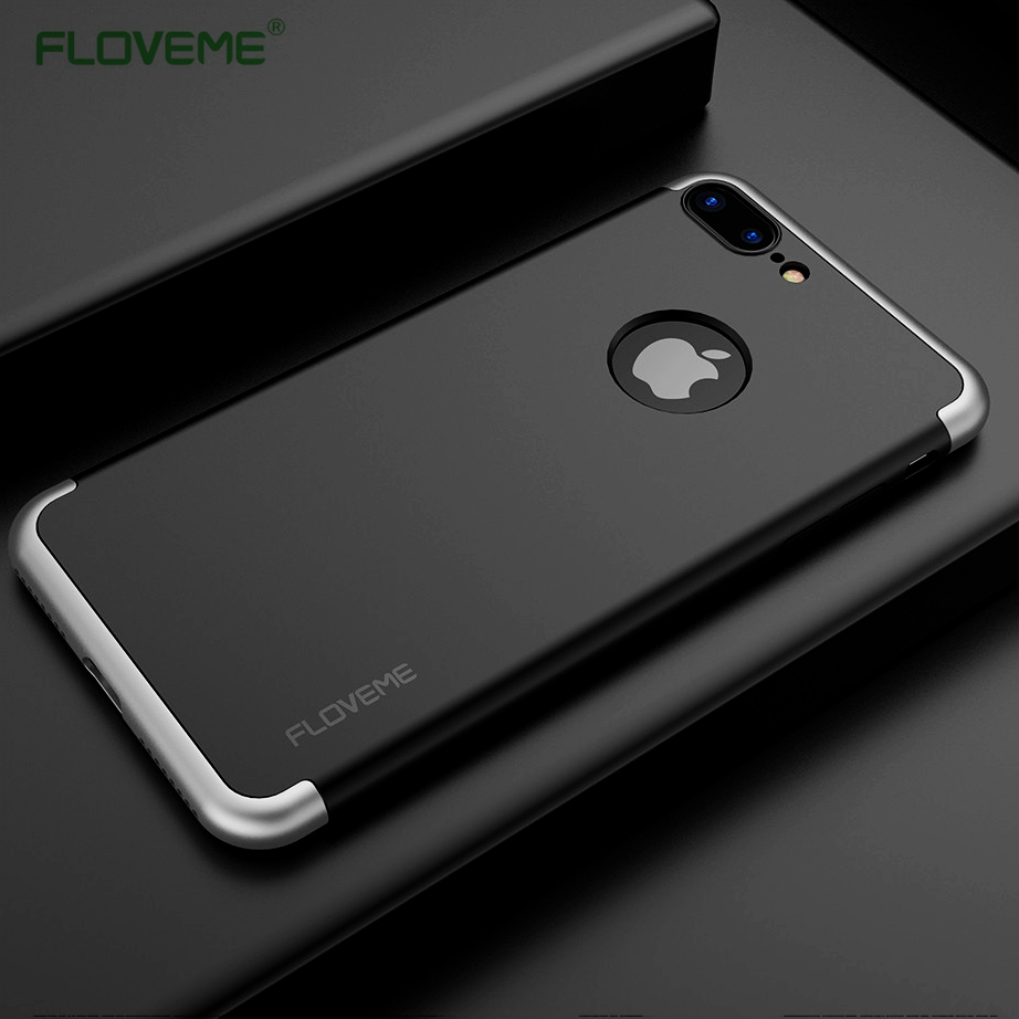 floveme hard hybrid case for iphone 6 7 cover for iphone 7 plus armor case anti knock. Black Bedroom Furniture Sets. Home Design Ideas