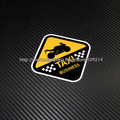 Hot sale I m TAXI Helmet Motorcycle funny Sticker Decals Waterproof  16