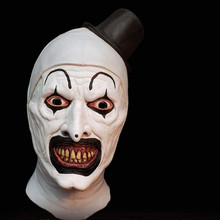 Clown Terrifier Mask Horror hallows eve Halloween night
