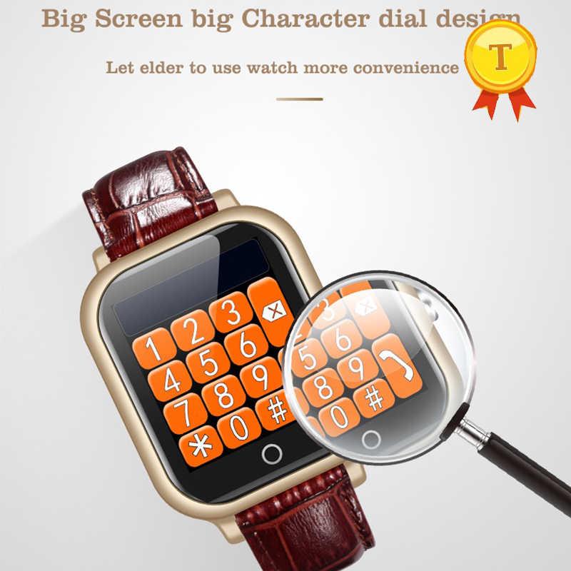 ที่ดีที่สุดของขวัญพ่อแม่ gps wifi สมาร์ทนาฬิกา GPS Locator สนับสนุน heart rate ความดันโลหิตสุขภาพ monitor sim alarm นาฬิกา